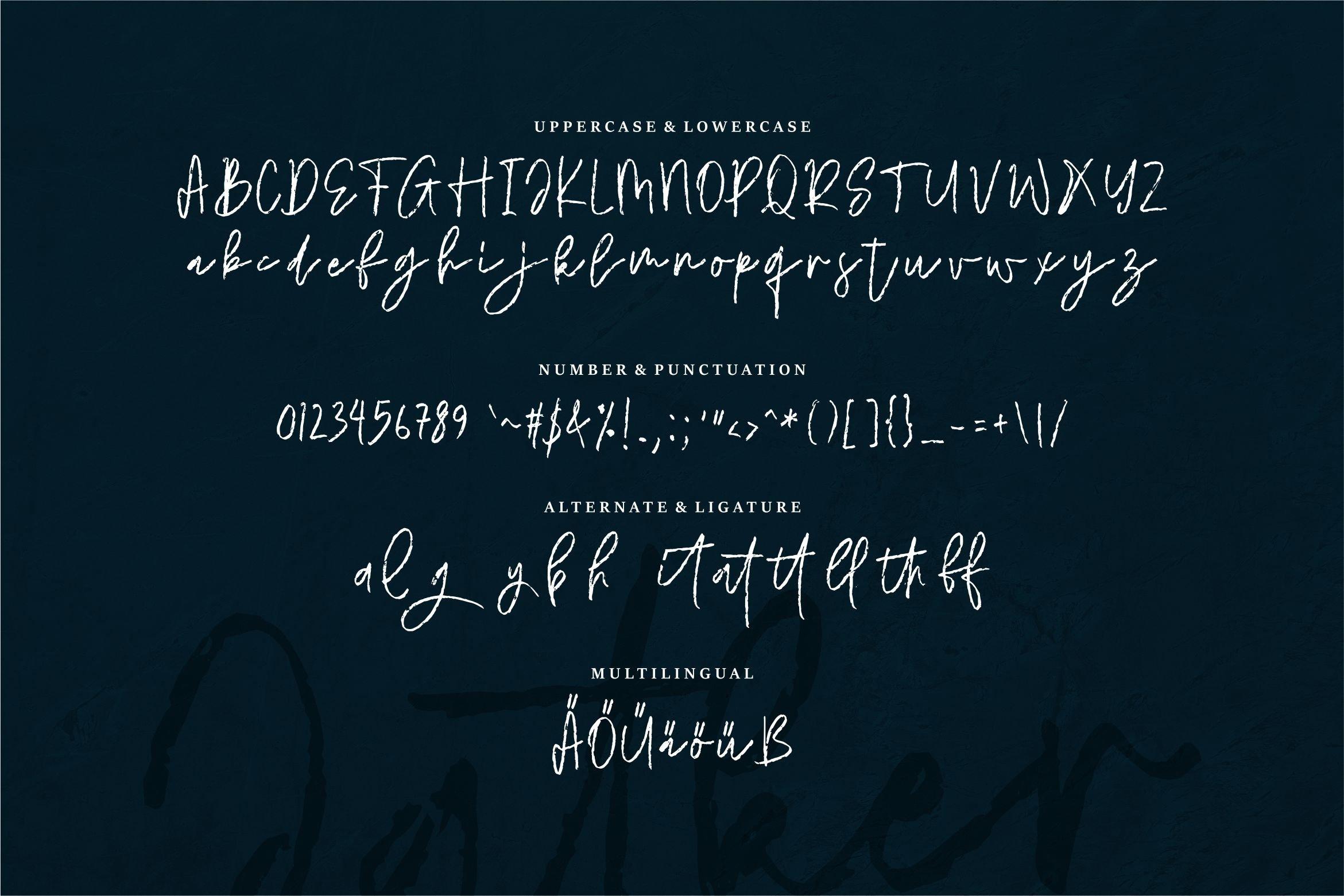 Jatker - Stylish Brush Font example image 5