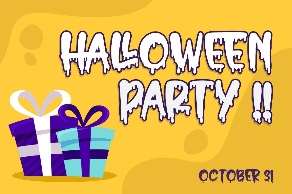 Hello Crush - Halloween Font example image 5