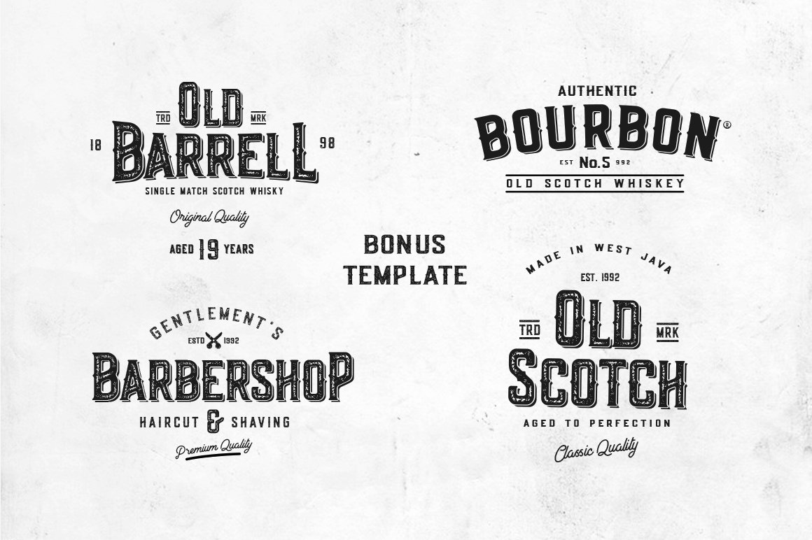Old Scotch Typeface example image 11