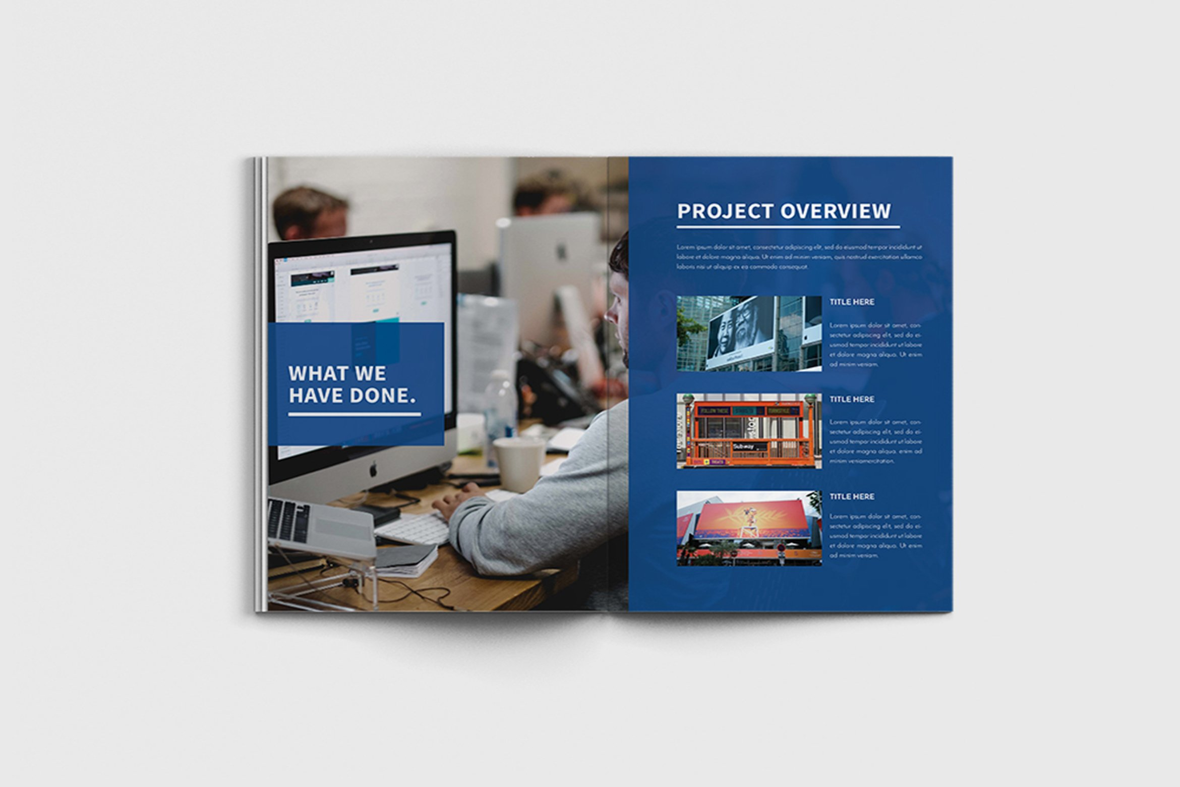 Walkers - A4 Business Brochure Template example image 11