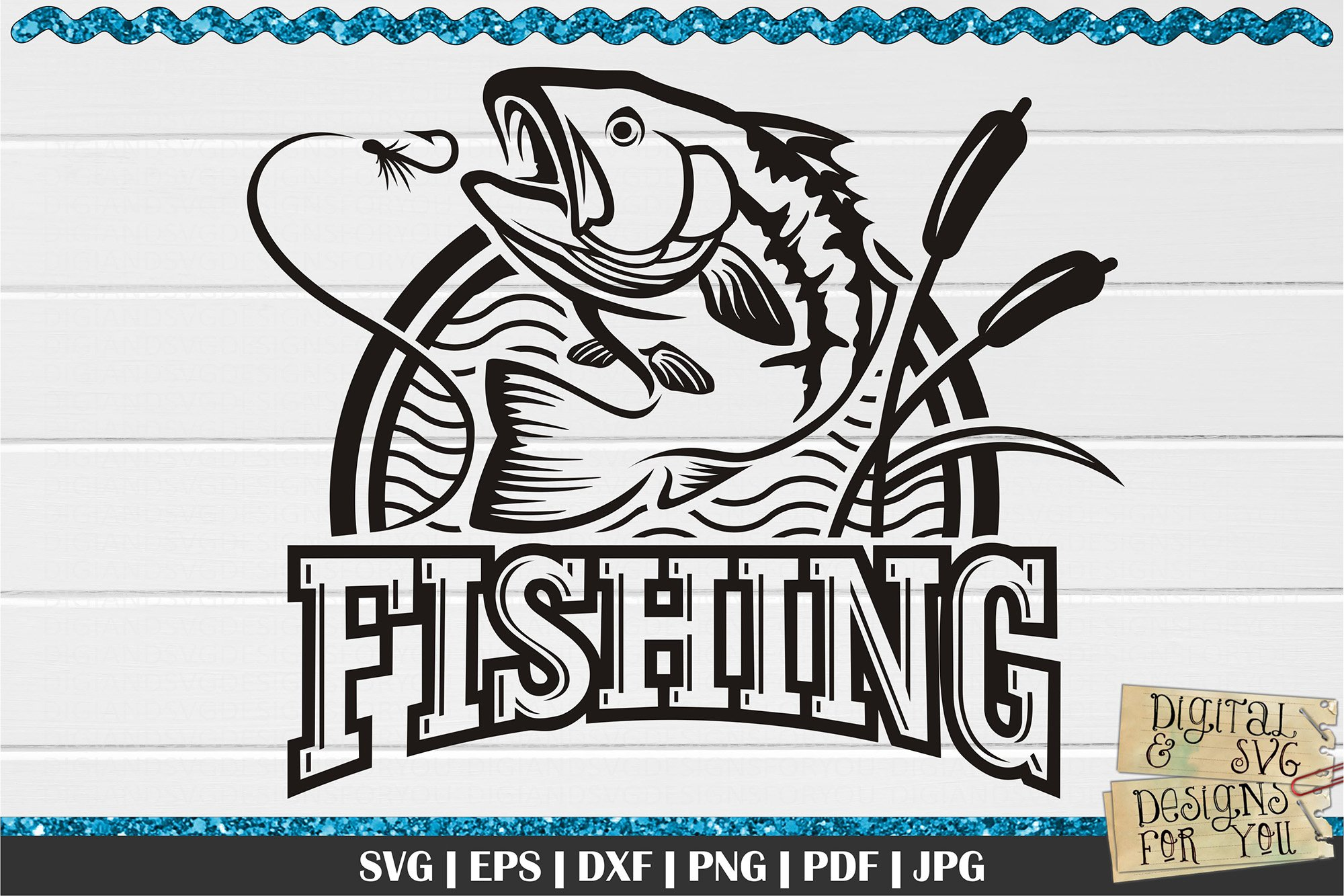 Download Fishing Logo Svg Bass Svg Fishing 772512 Cut Files