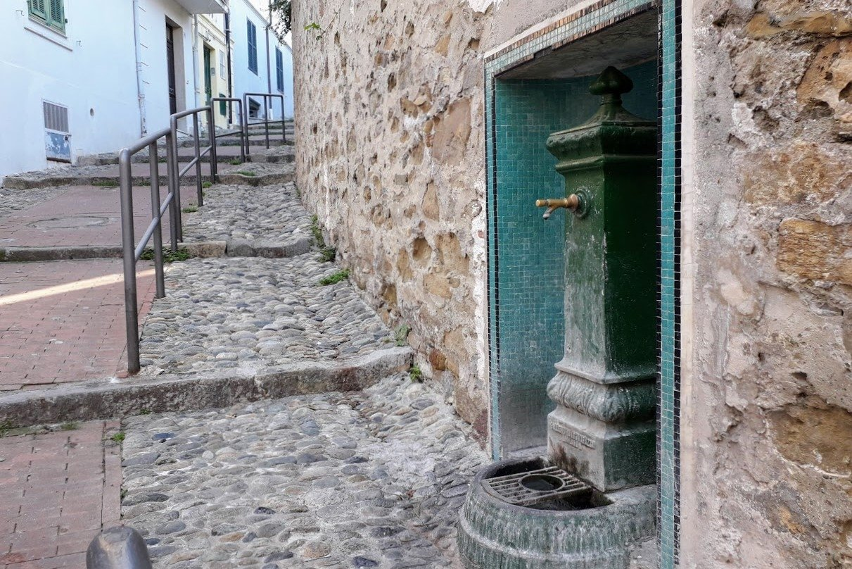Architecture Photography Water Craine in Old town Sanremo example image 1