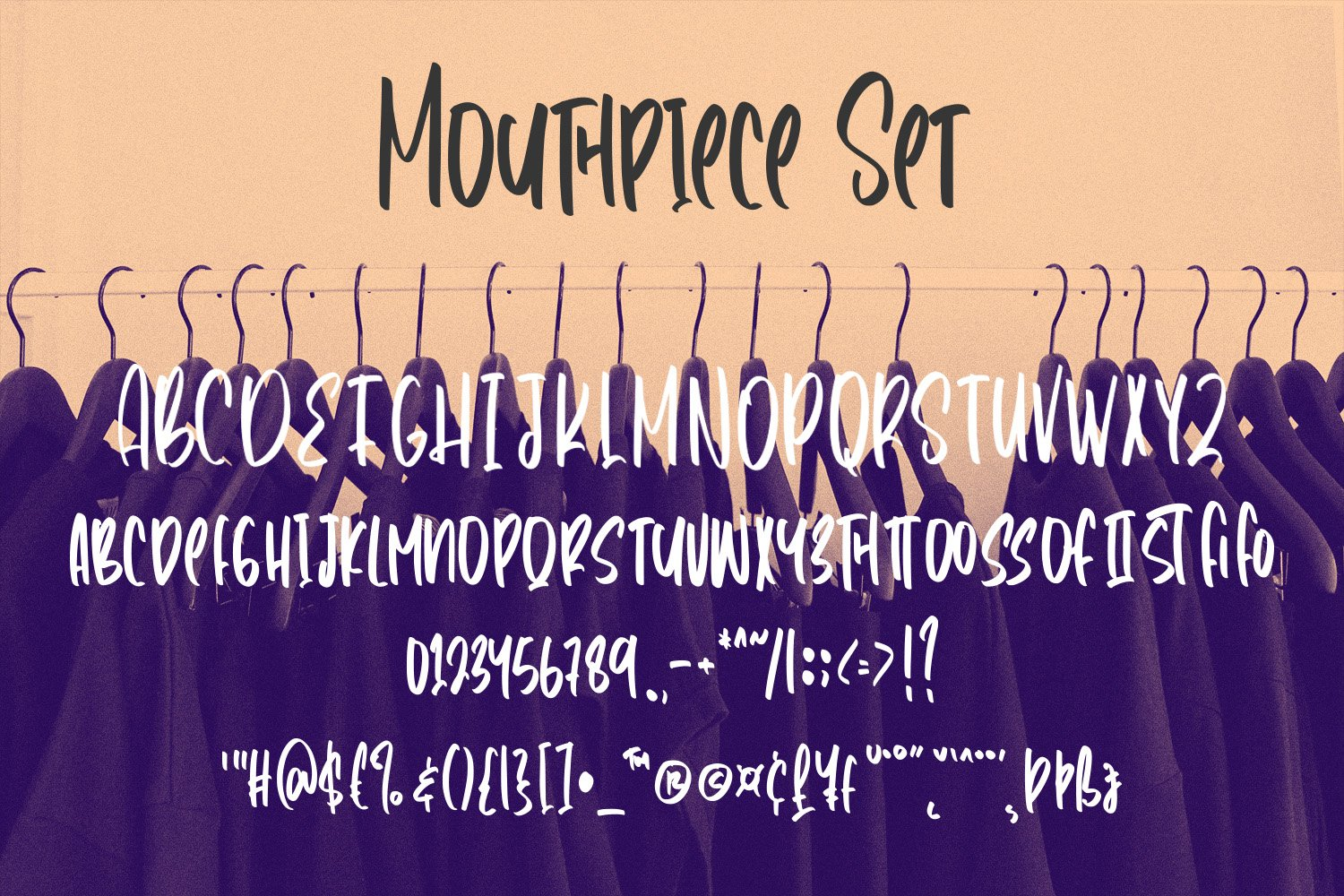 Mouthpiece - Handwritten Font example image 5