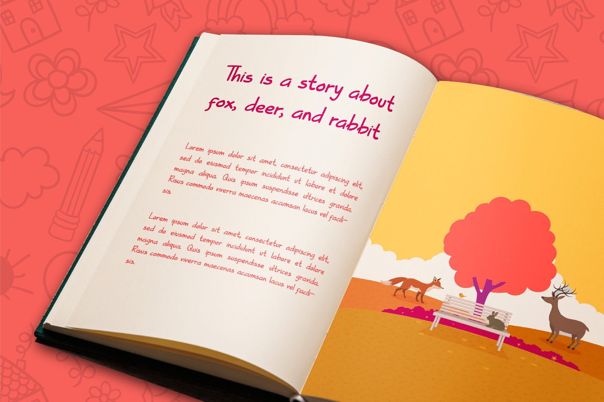 Kiddle Summer - Cute Display Font example image 4
