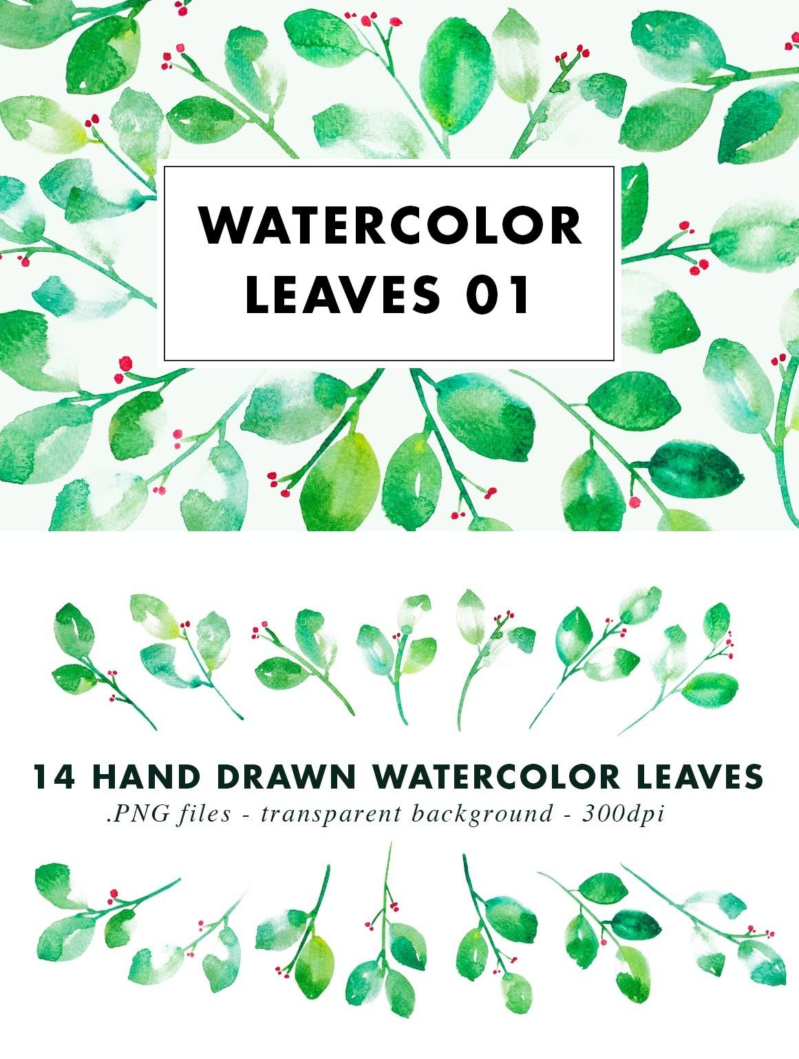 SALE | Watercolor Bundle | Best Sellers Clipart Illustration example image 23
