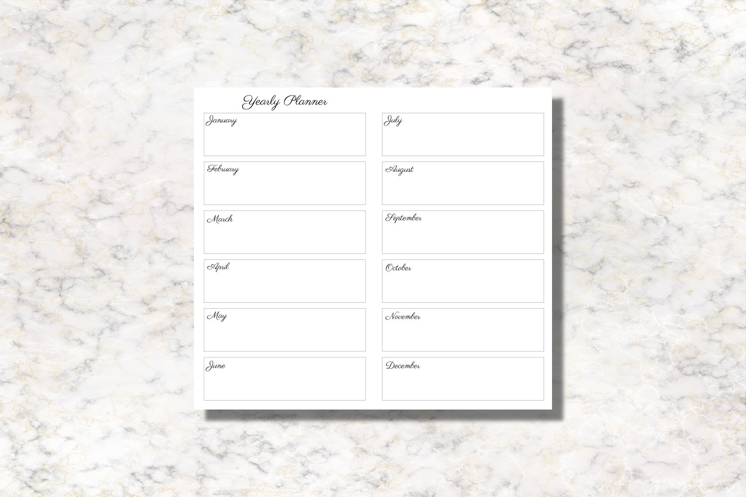 Bamboo Leaves Personal Size Notebook Inserts Planner example image 4