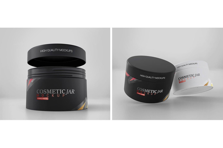 Cosmetic Jar Mockup example image 4