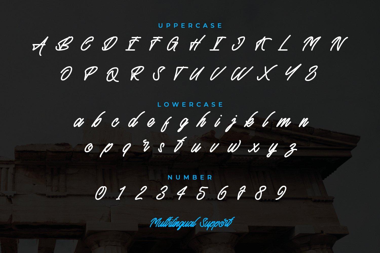 Athena Script Font example image 4
