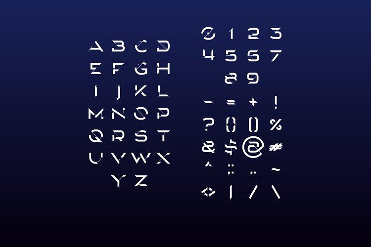 Rockean font example image 3