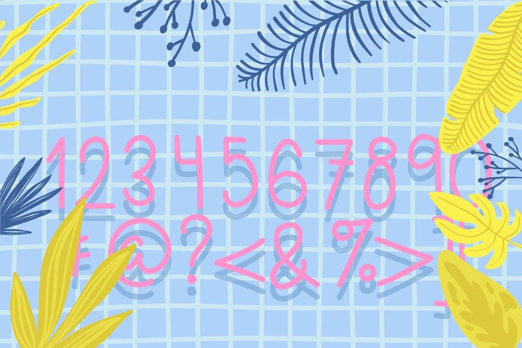 Pineapplez Font example image 4