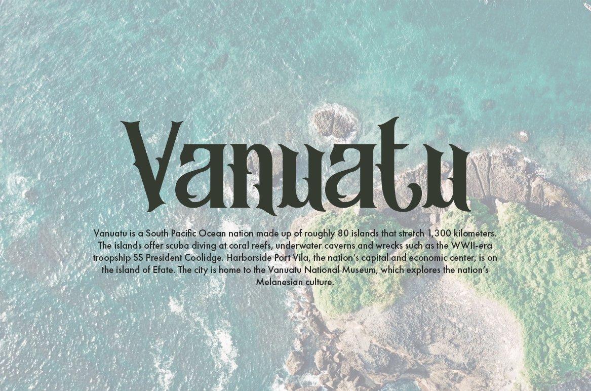 Morgana - Display Font example image 9