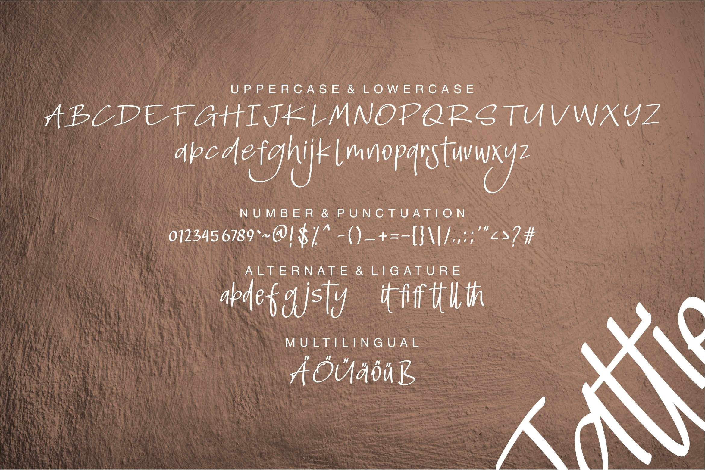 Jattie - A Handdraw Font example image 6