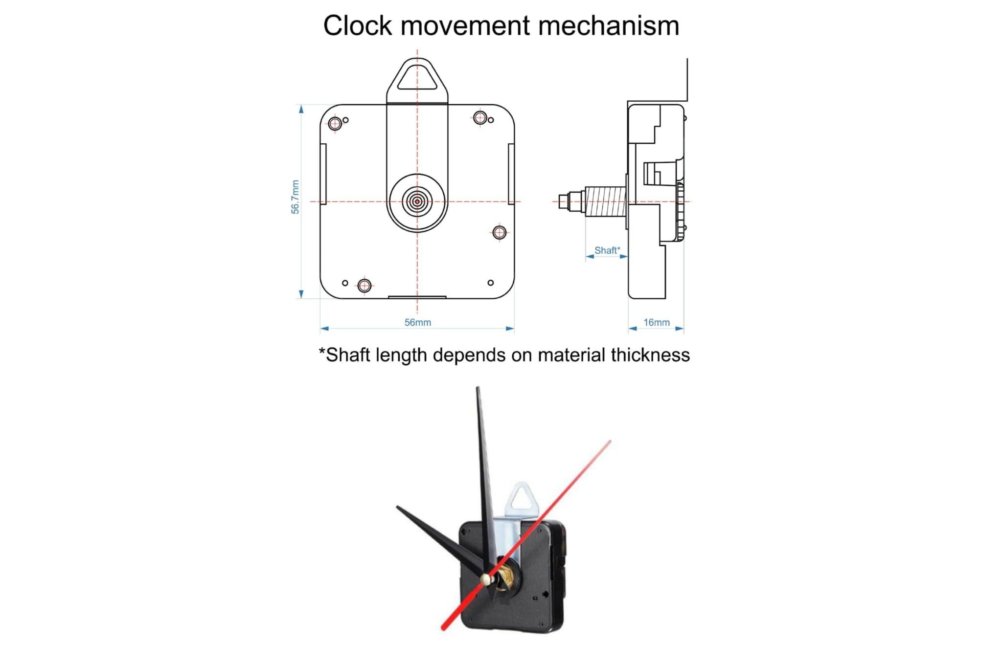 C13 - Mandala Clock DXF for Laser cut, Sacred Clock SVG example image 9