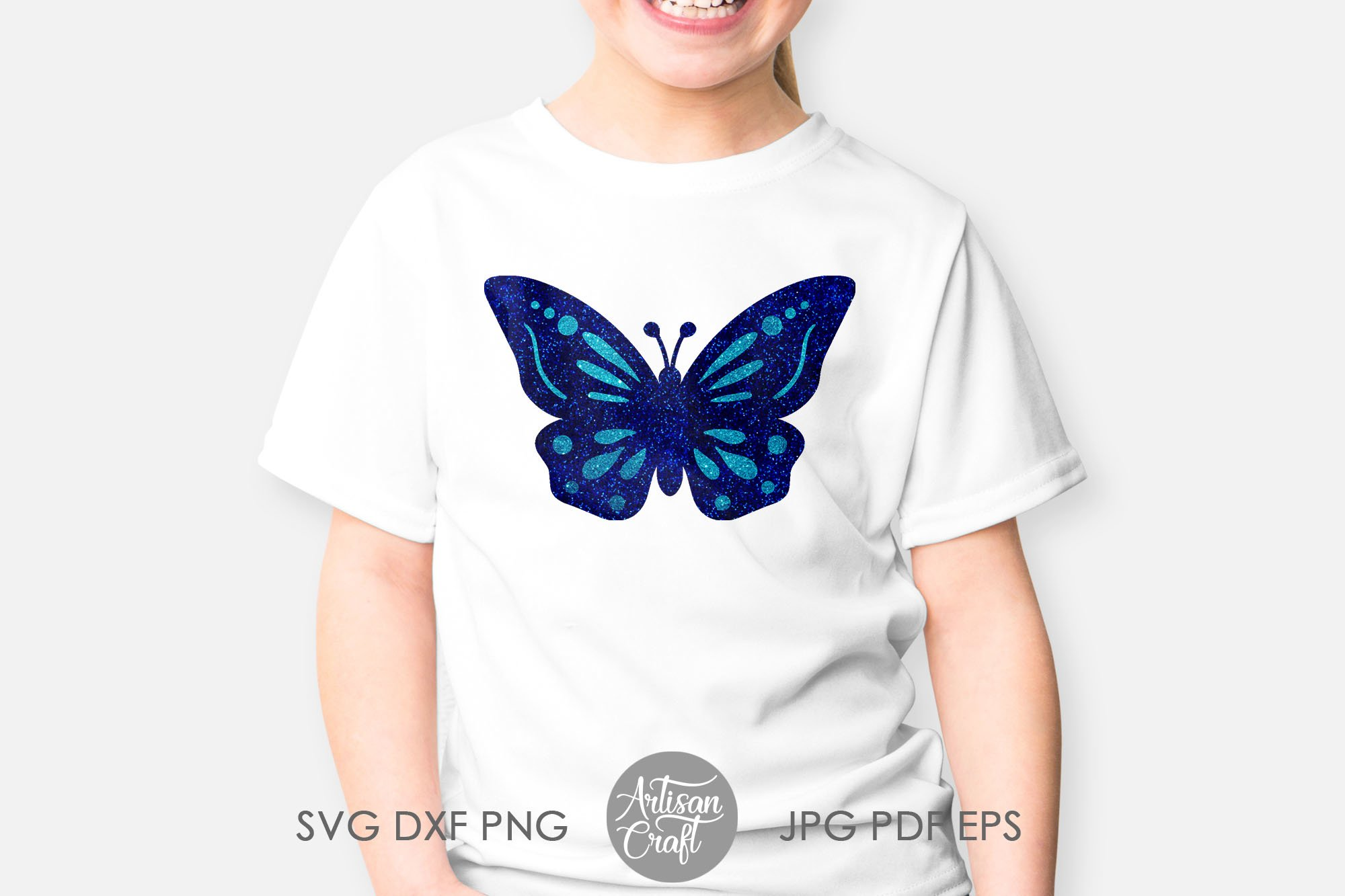 Butterfly clipart, butterfly SVG, cut files, layered svg example image 4