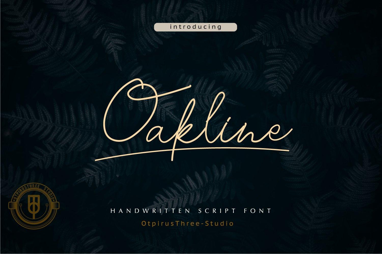 Oakline example image 1
