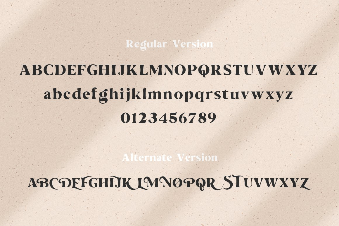The Love For Money Font Duo example image 6