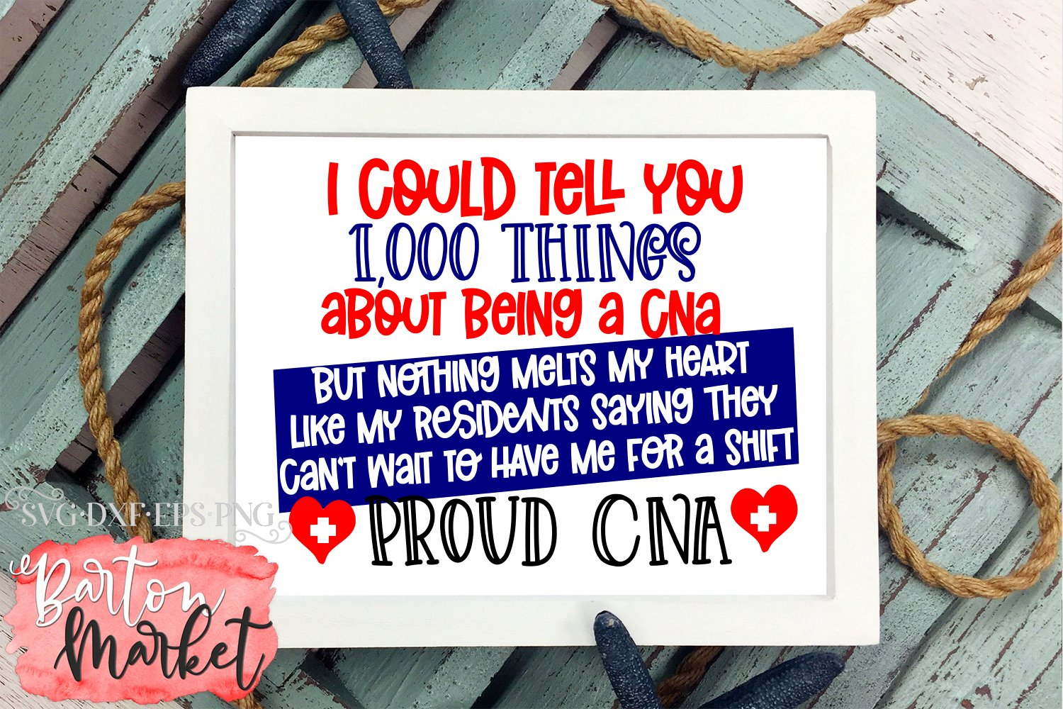 1000 Things About Being A Proud CNA SVG DXF EPS PNG example image 4