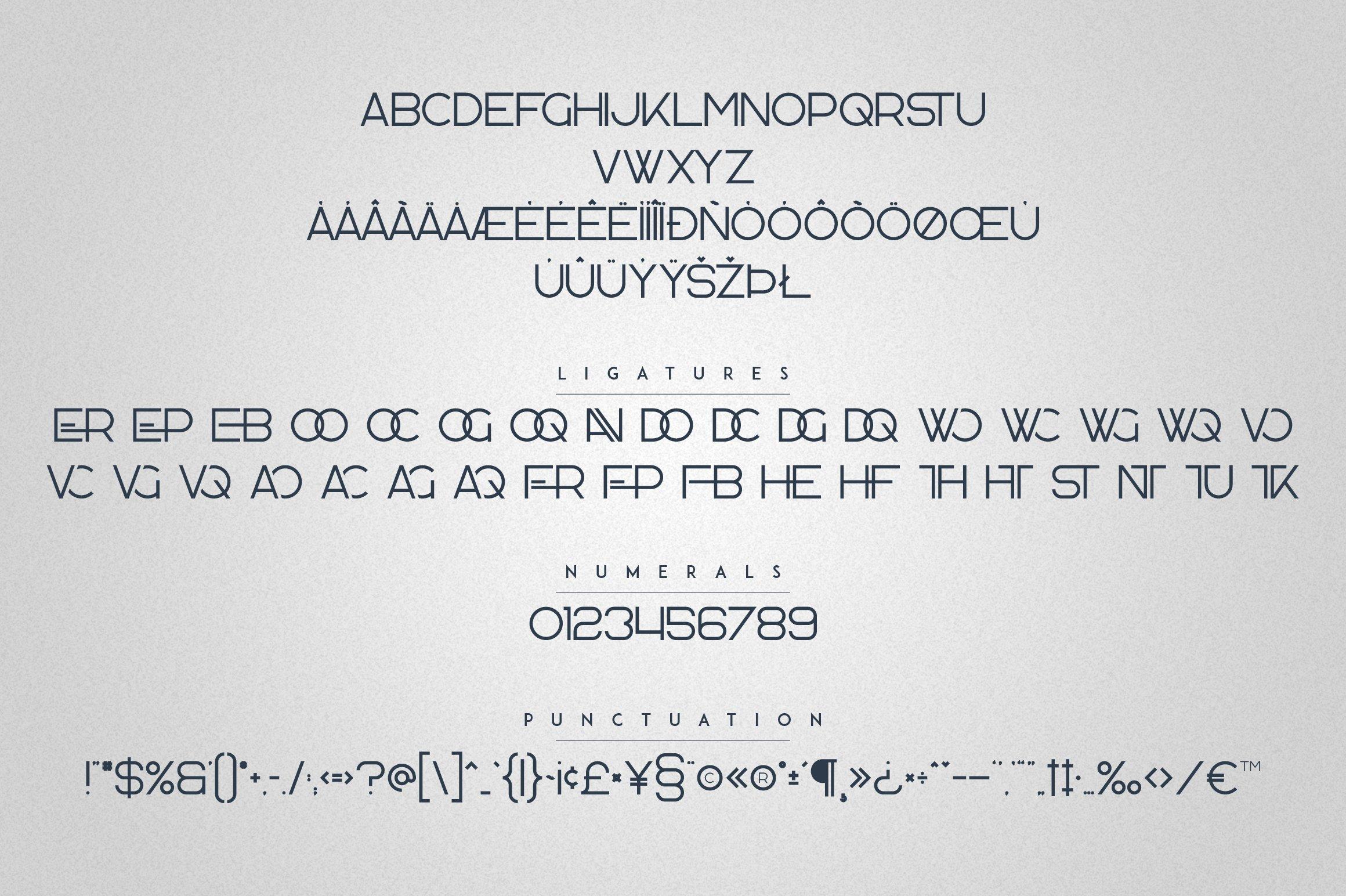 Kavo Family - 17 fonts 24 logos example image 18