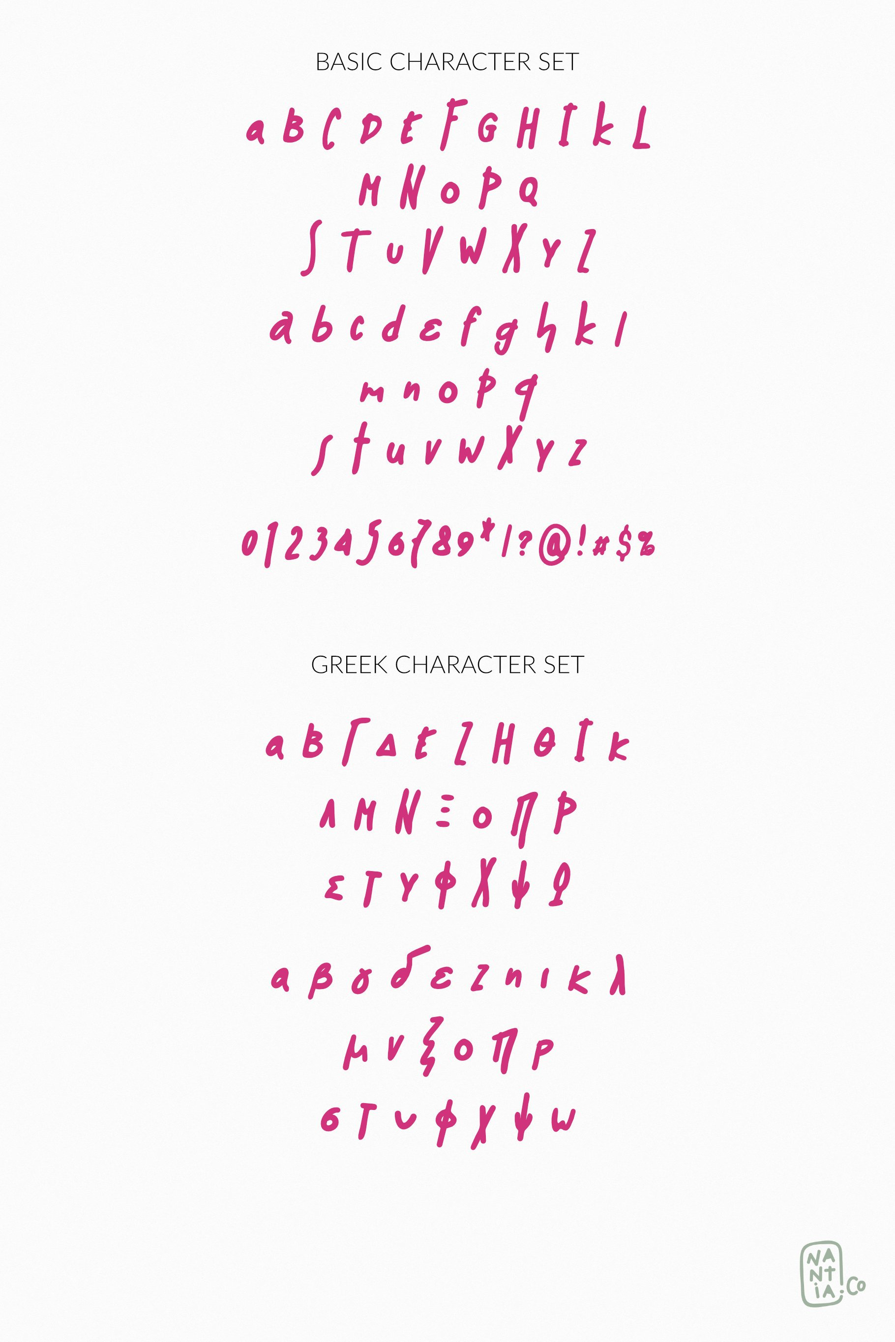 Muri the Handcrafted Font example image 3