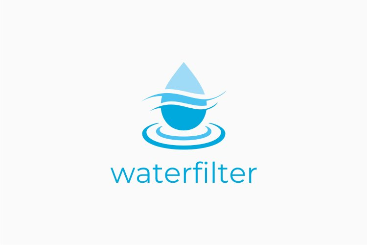 Water Filter Logo example image 1