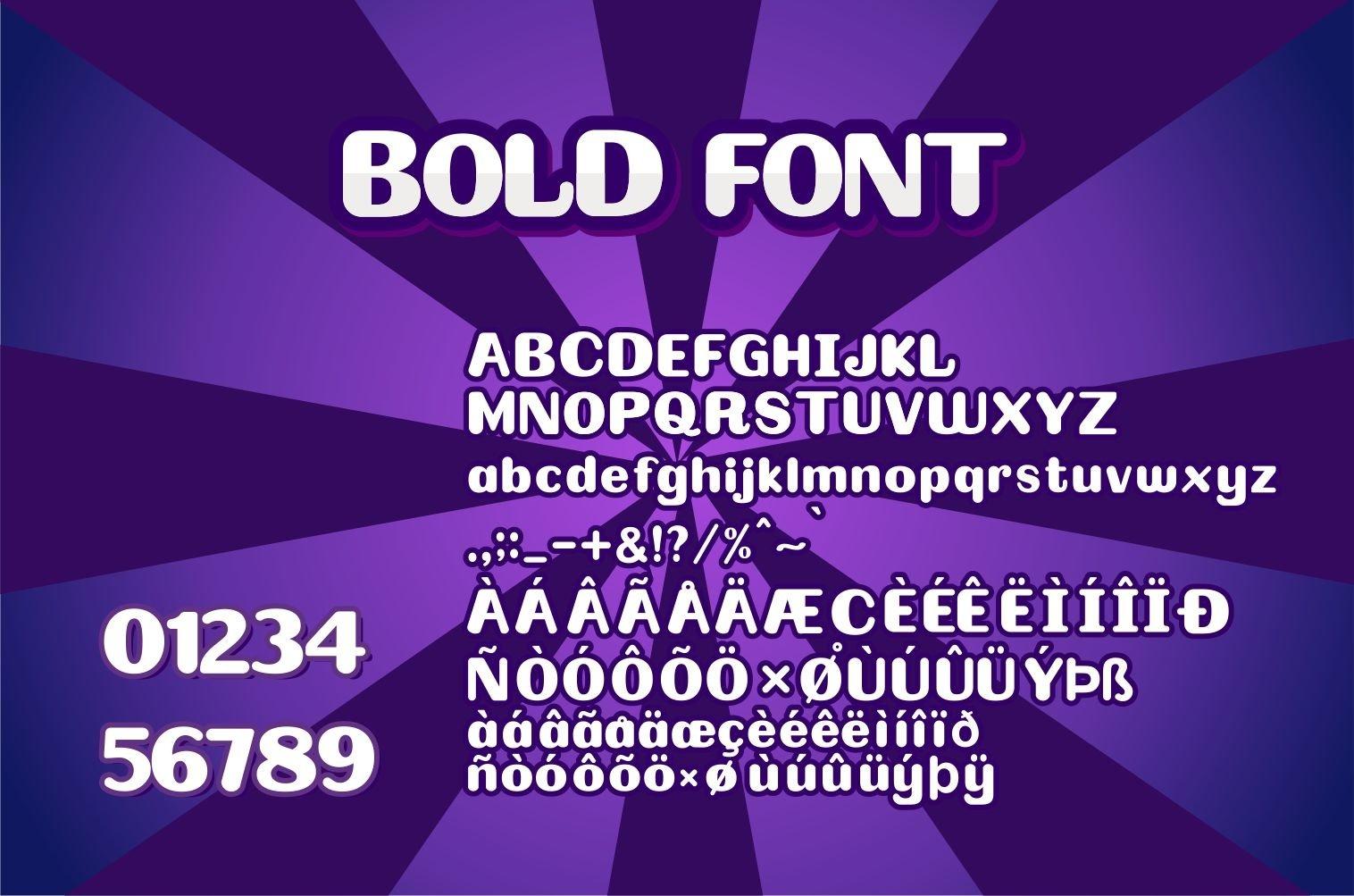 Bolder Display Font example image 5