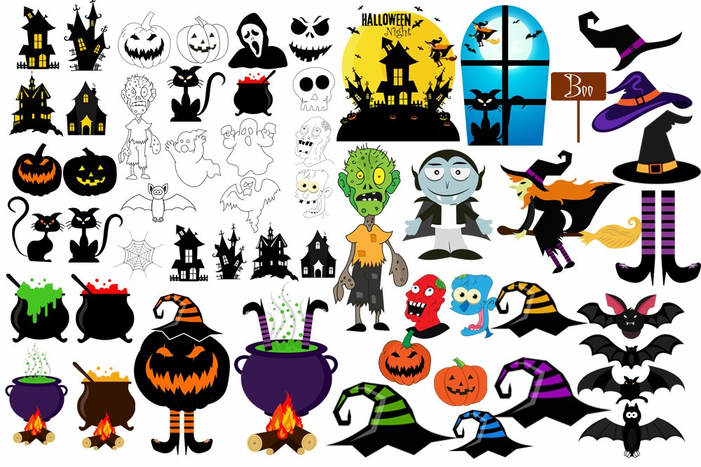 Halloween PNG Elements example image 1