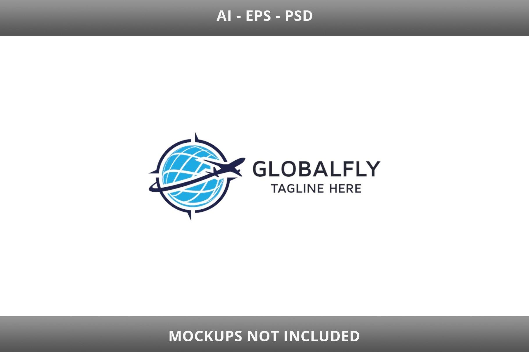 Global Fly Logo example image 3