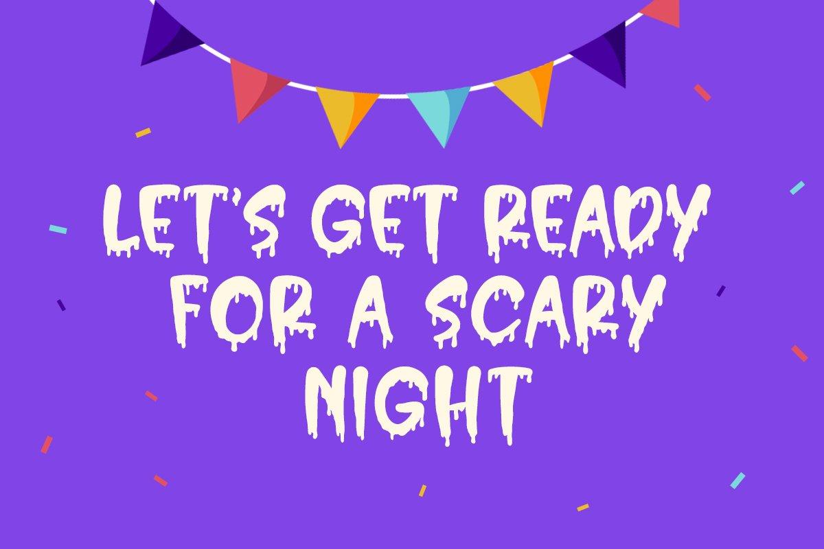 Hello Crush - Halloween Font example image 2