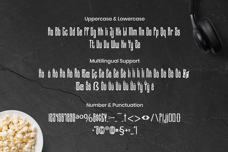 Descendants Font example image 3