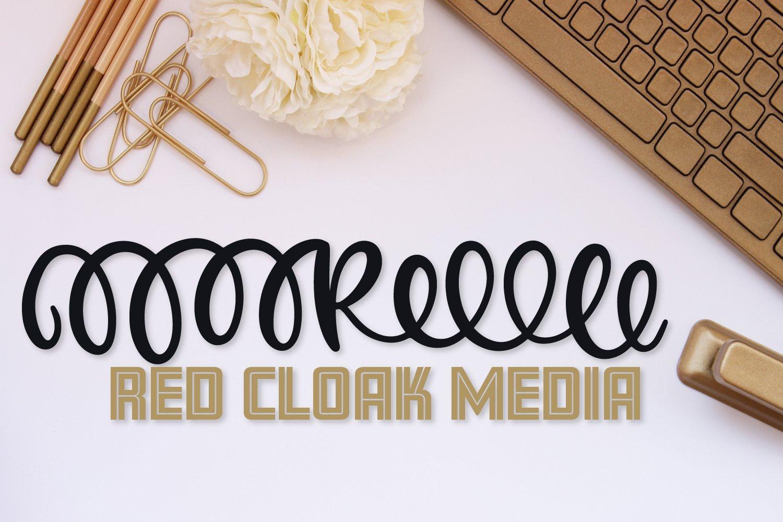 Monogram Header Font - A-Z Letters example image 5