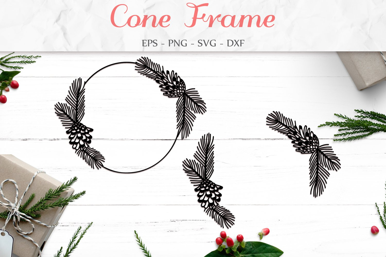 Garland clipart pine cone, Garland pine cone Transparent FREE for download  on WebStockReview 2020