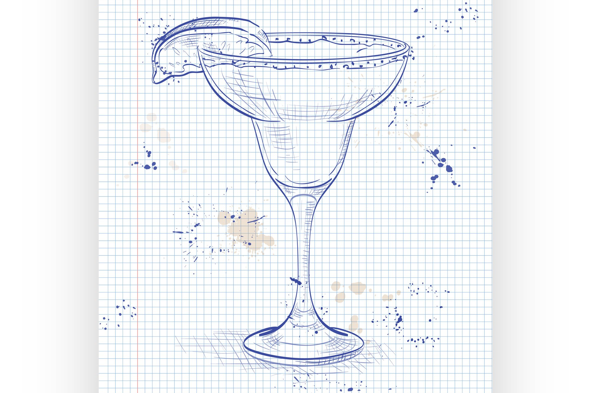 Cocktail alcohol Margarita example image 1