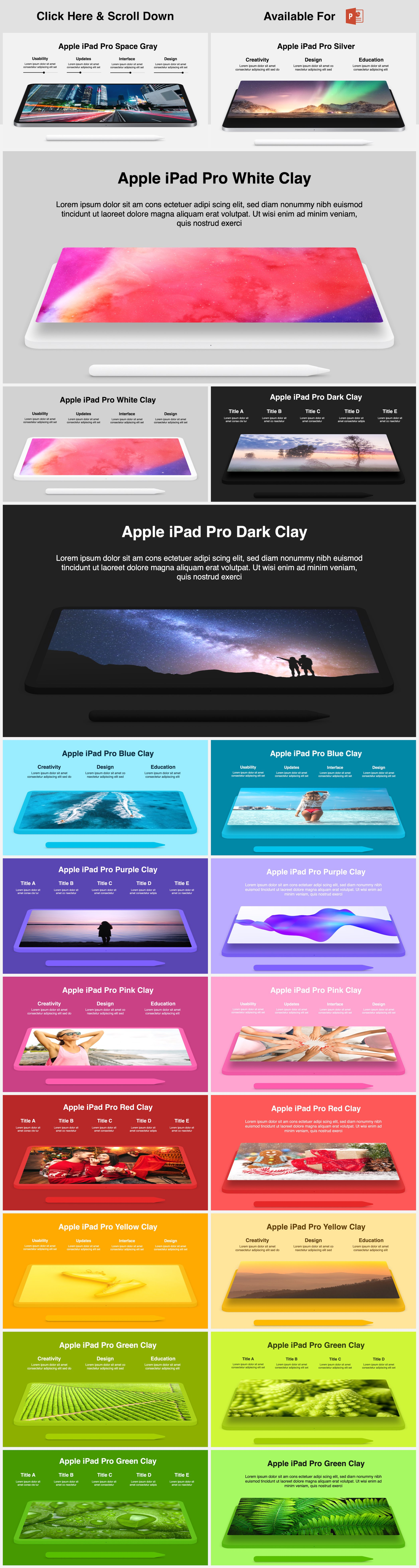 Animated Mockups Presentation Bundle. Infographic Templates. example image 25