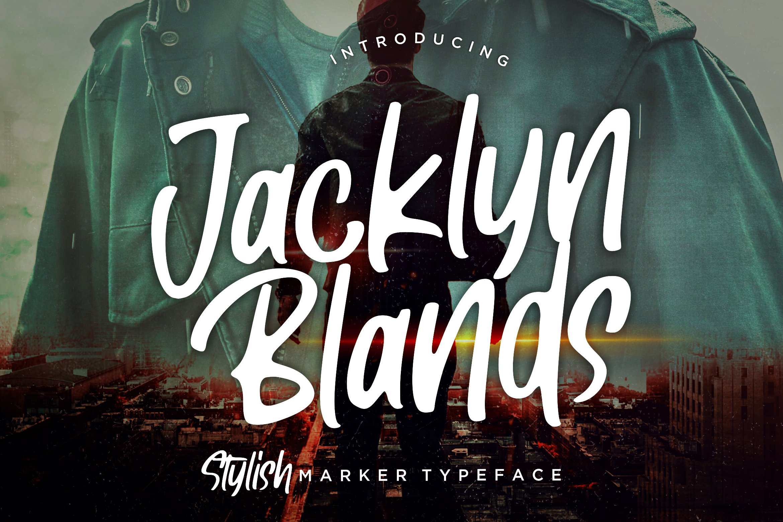 Jacklyn Blands Stylish Marker example image 1