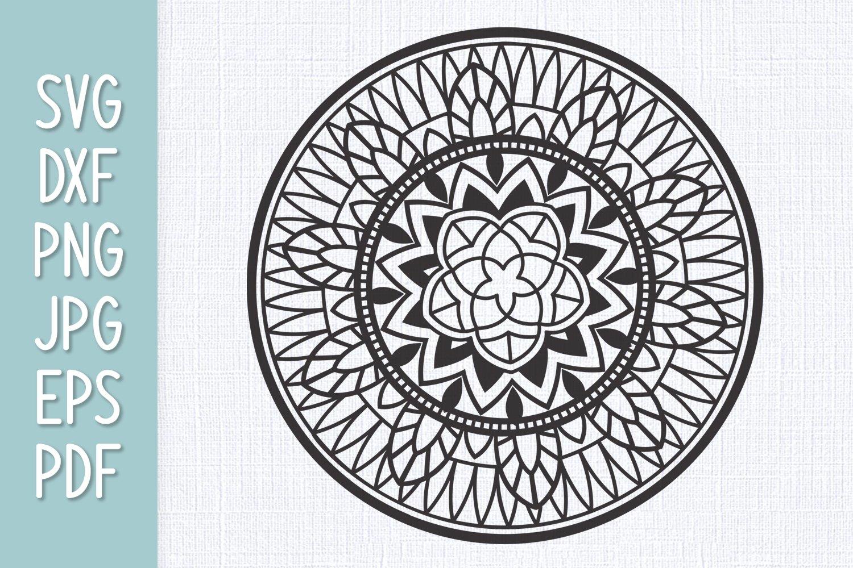 Mandala SVG example image 1