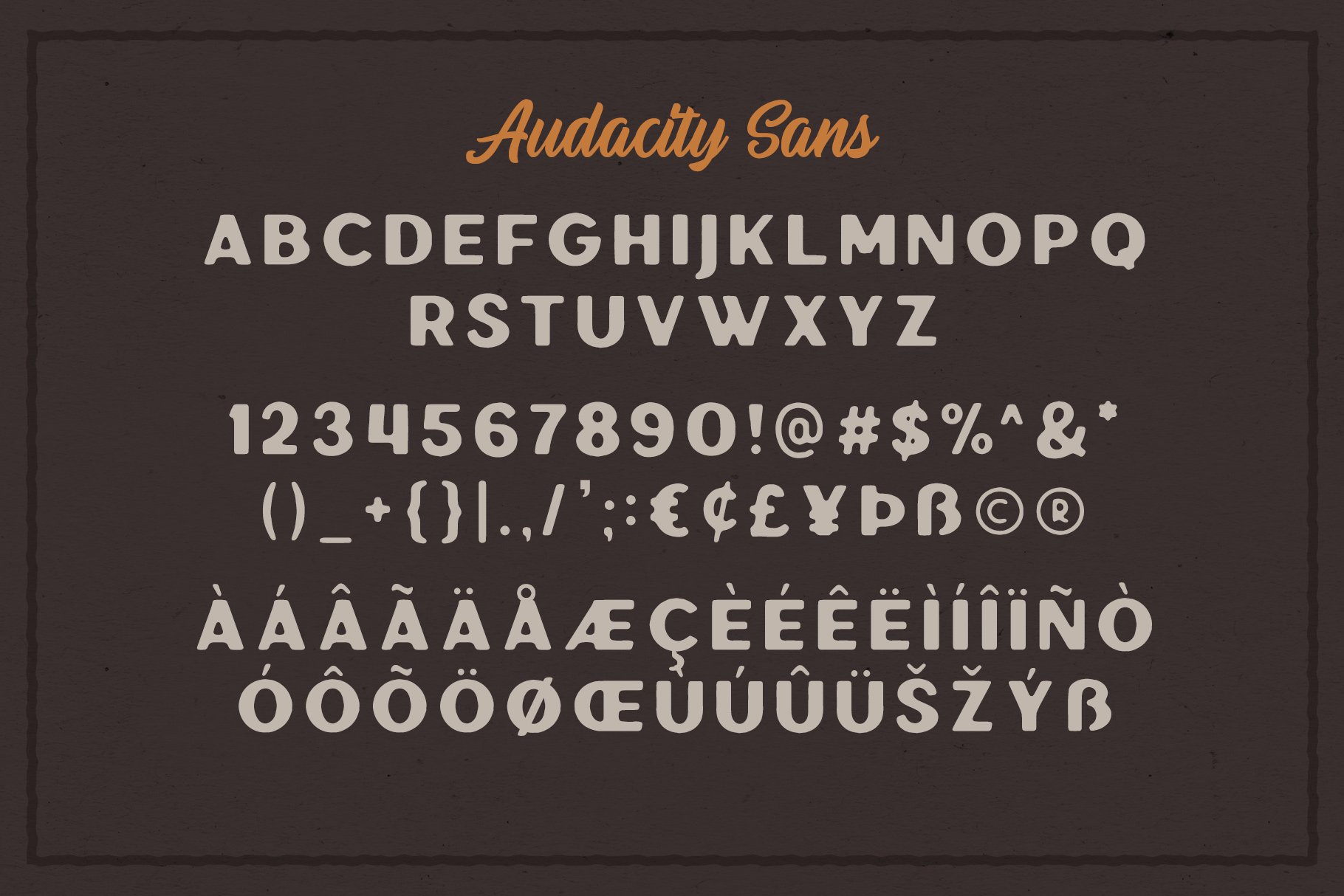 Audacity - Font Duo EXTRAS example image 4