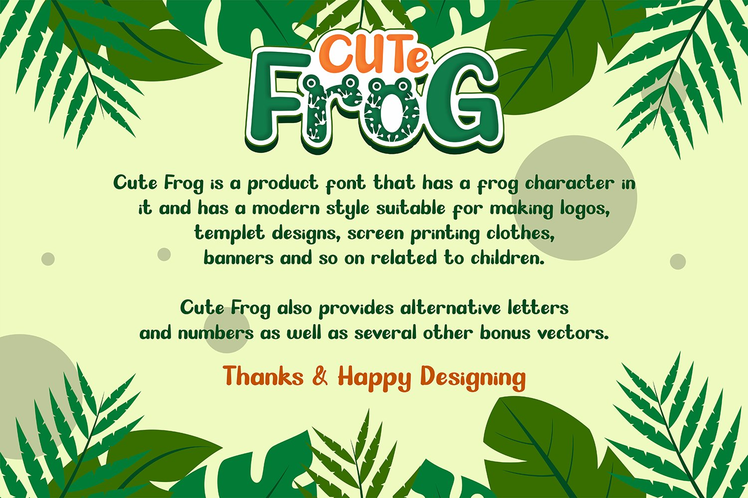 CUTE FROG example image 8