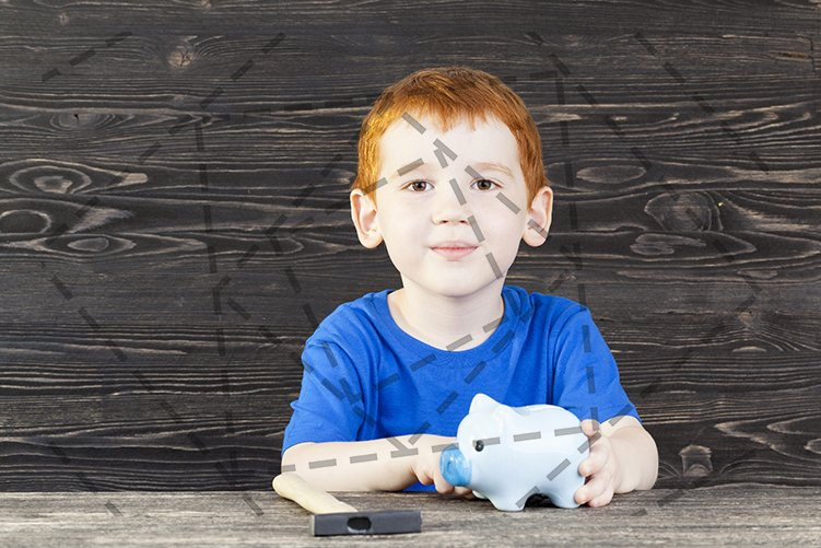 child piggy bank example image 1