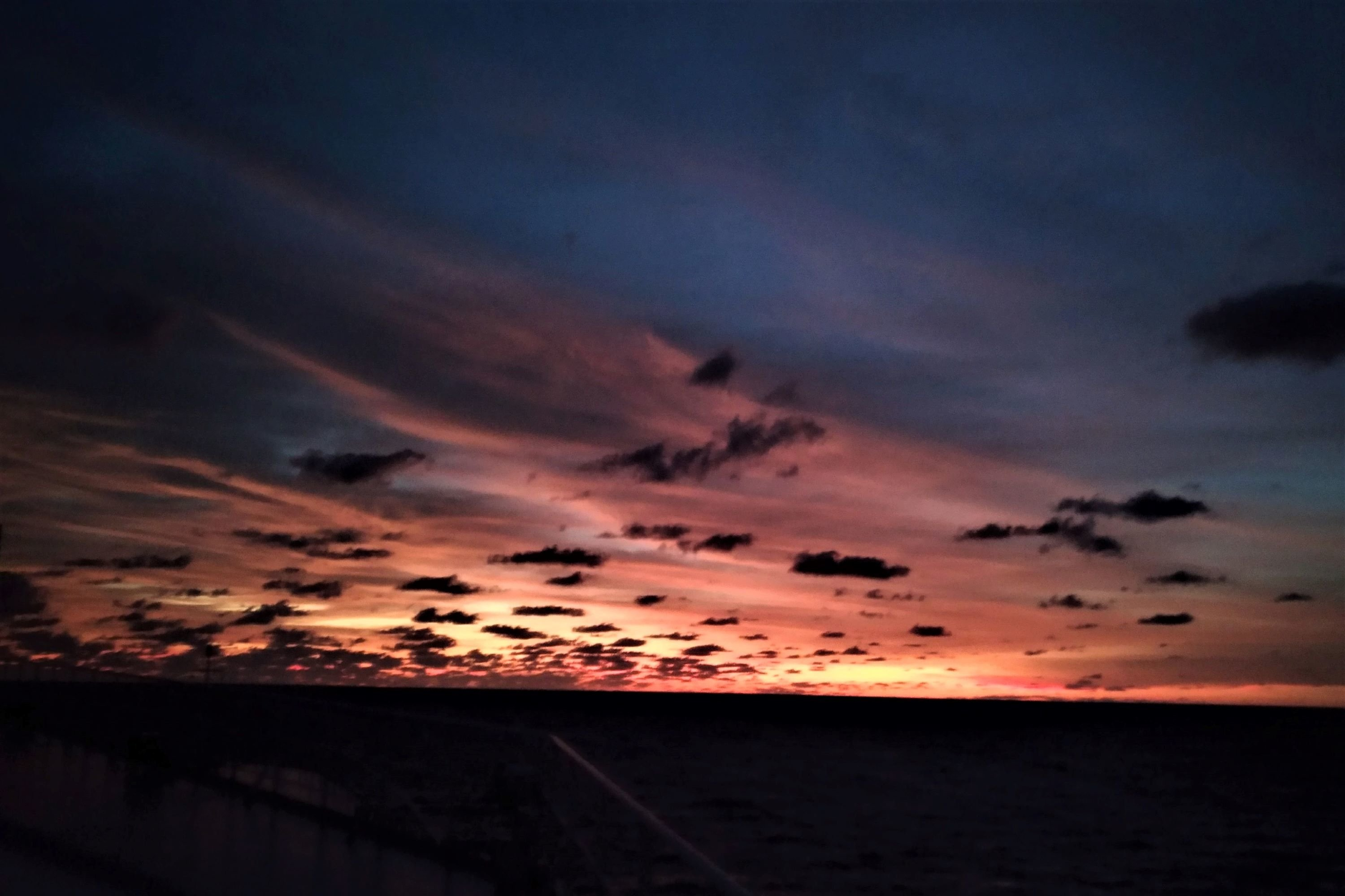Awesome sunsets at sea example image 1