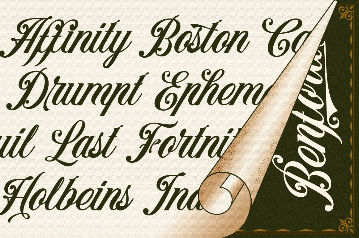 Benford Font Collections with Extras example image 3