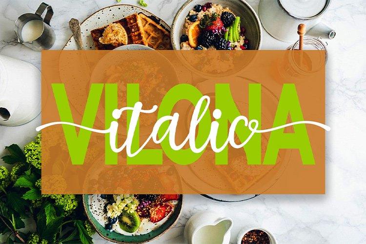 Vilona |Three Typeface example image 4