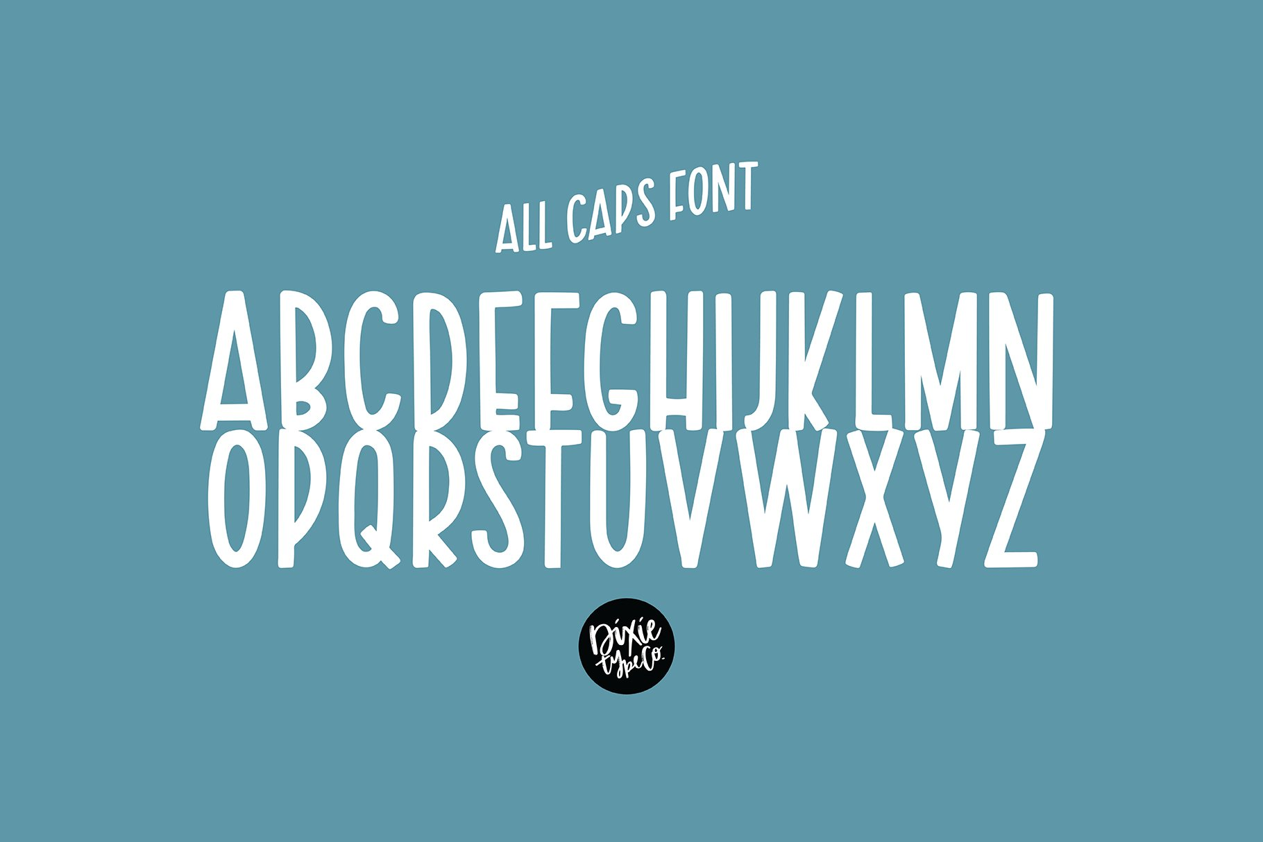 ALOMA ISLAND a Bold Display Font example image 5