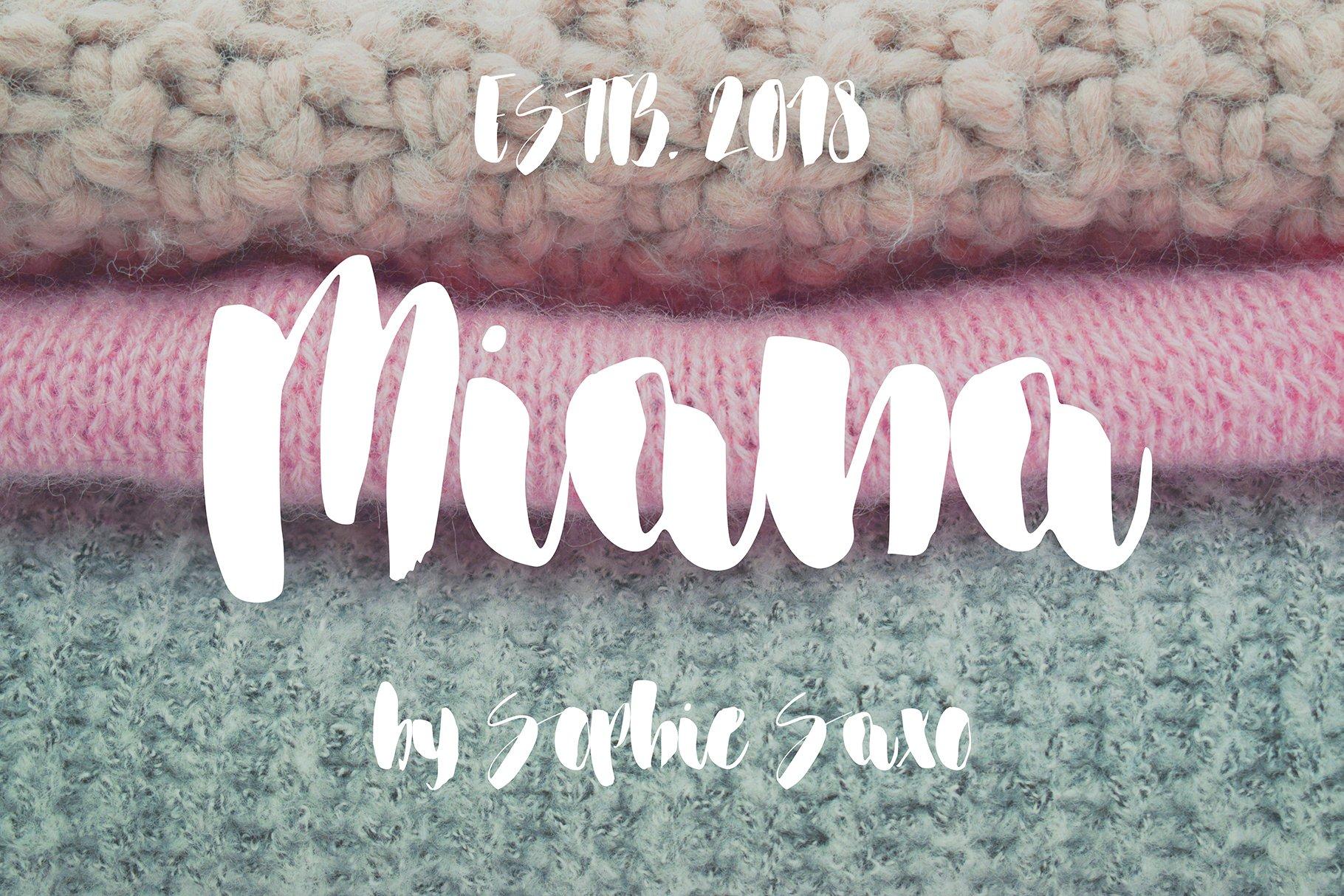Miana Font example image 2