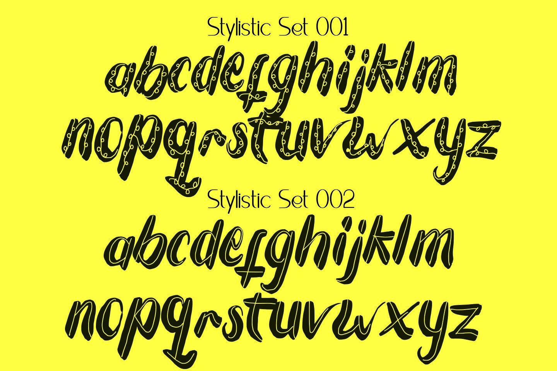 Tuesday Spirit Ethnic Font example image 10