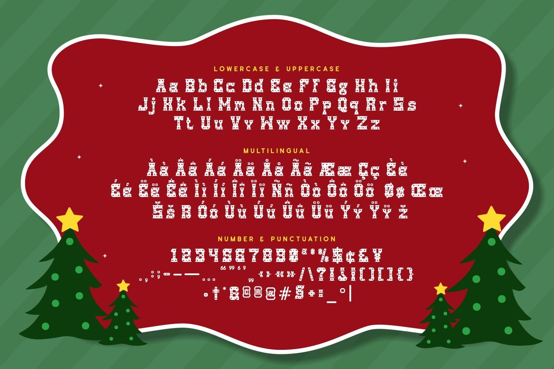 Redsanta - Decorative Display Font example image 5