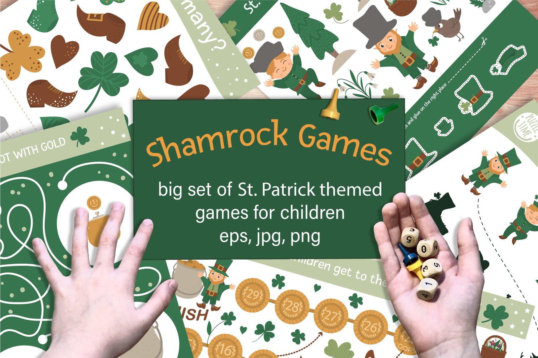 Download Shamrock Games 422302 Educational Design Bundles