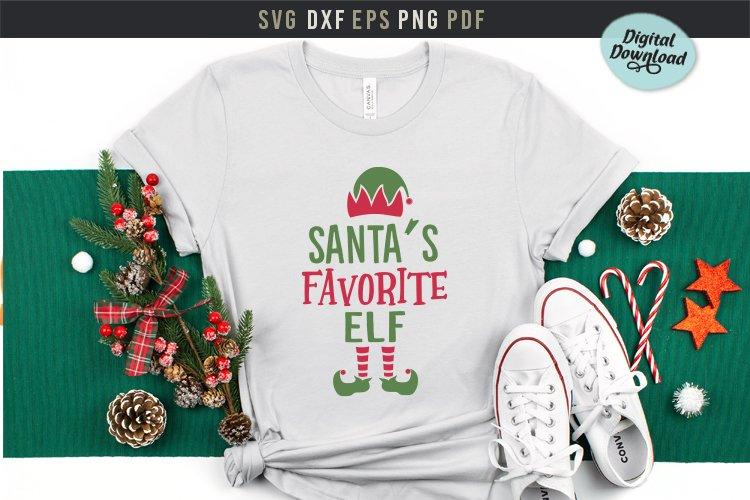 Santa S Favorite Elf Svg Printable Elf Svg Christmas Shirt 923402 Cut Files Design Bundles