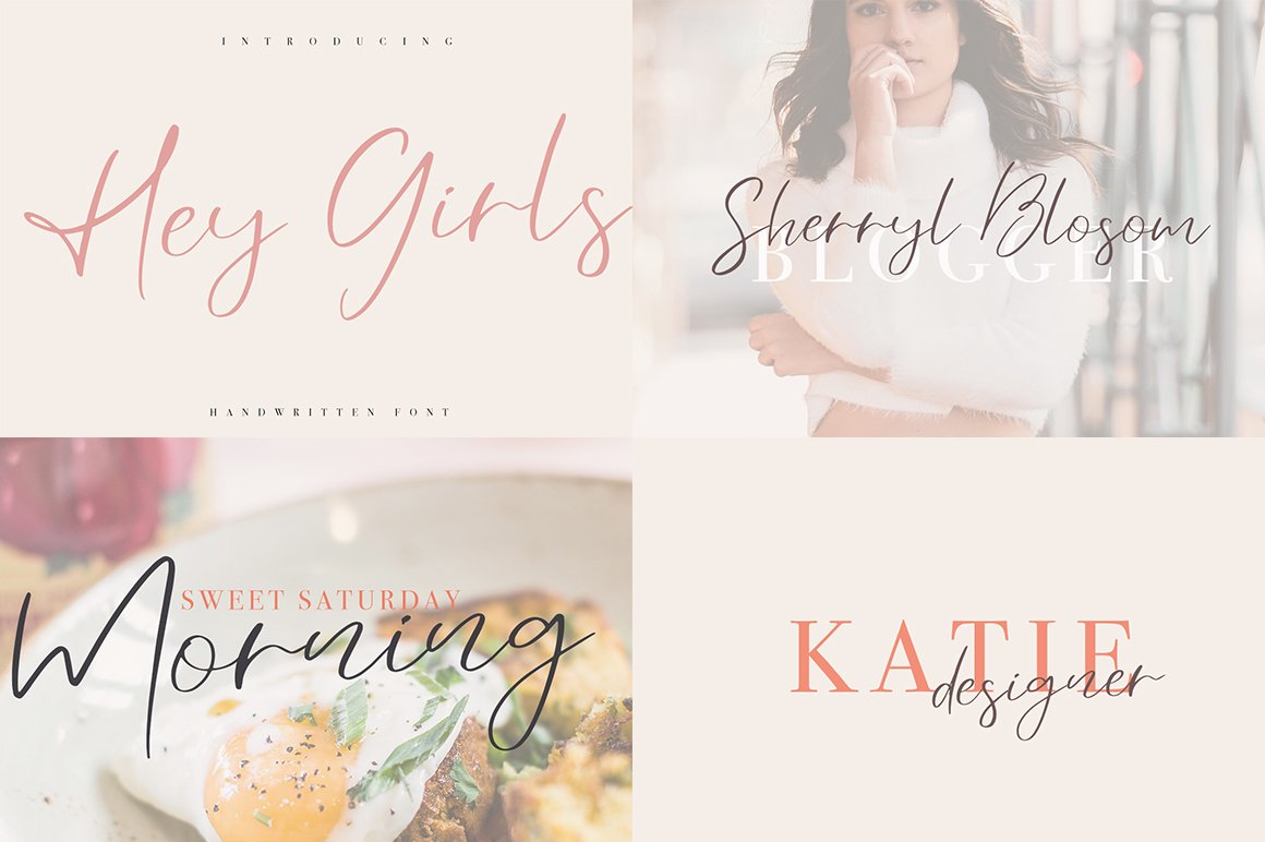Font Bundle 70 in One example image 16