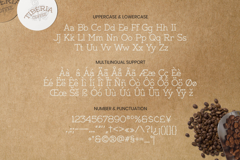 Thidan Font example image 5