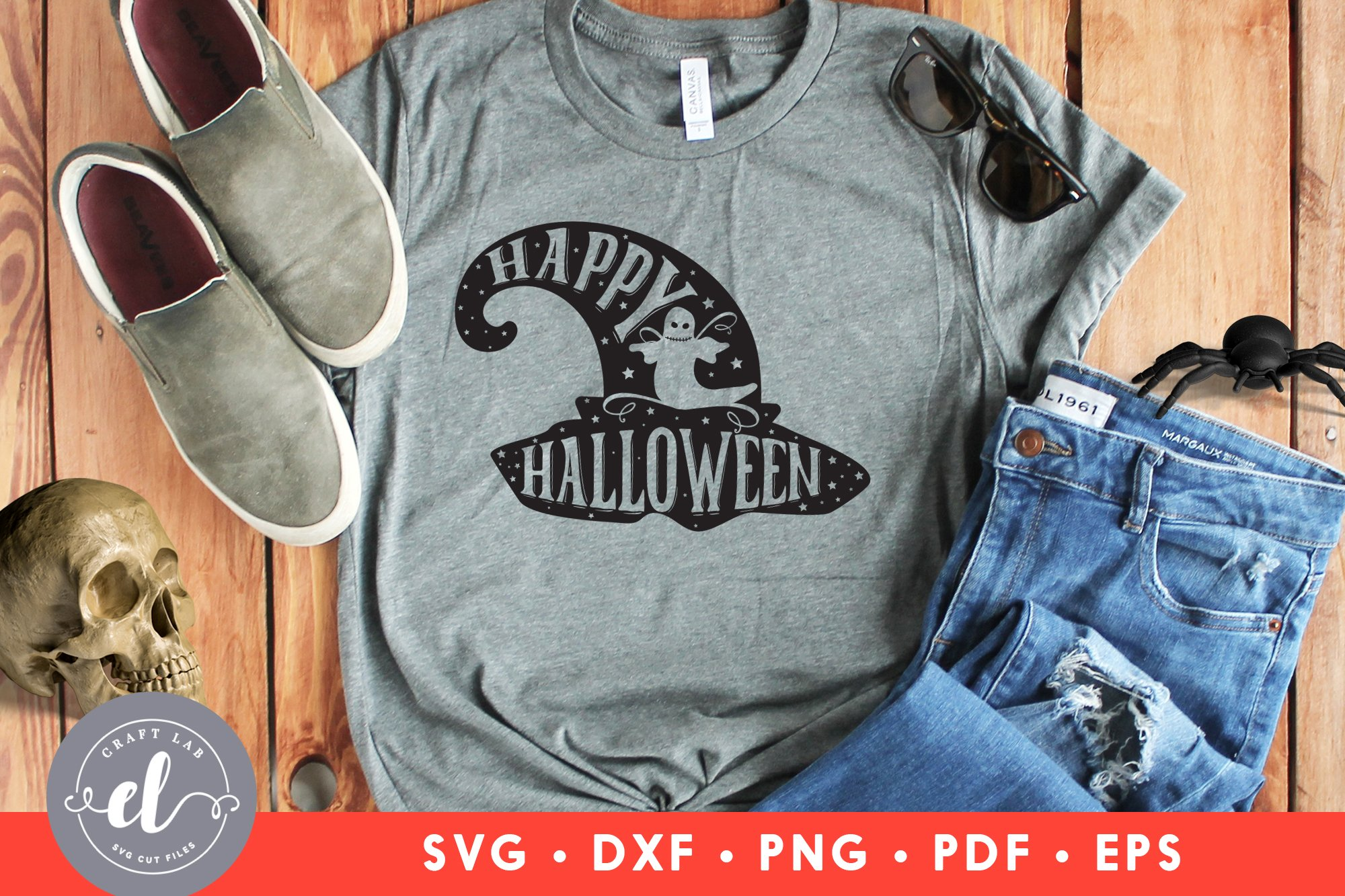Happy Halloween Svg Dxf Png Halloween Quotes Svg Cut File 839677 Cut Files Design Bundles